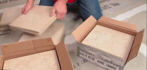 1 thùng gạch bằng bao nhiêu m2