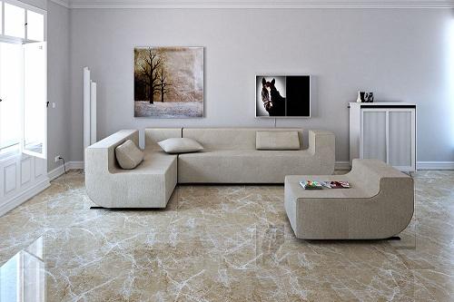Các kiểu lát gạch phòng khách cho không gian ấn tượng, thu hút nhất