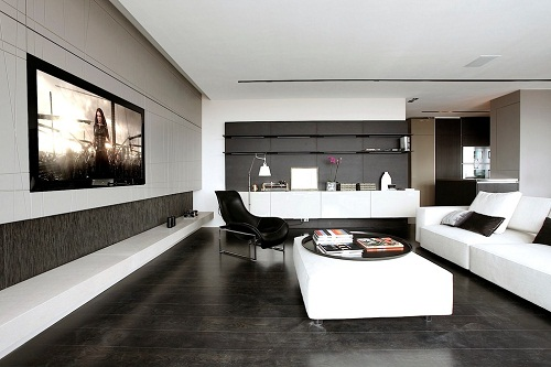 Tuyệt chiêu dùng gạch lát nền màu đen cho không gian ấn tượng, cá tính