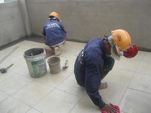 2 cách lát gạch nền nhà đẹp, chuẩn kỹ thuật nhất cho các gia đình