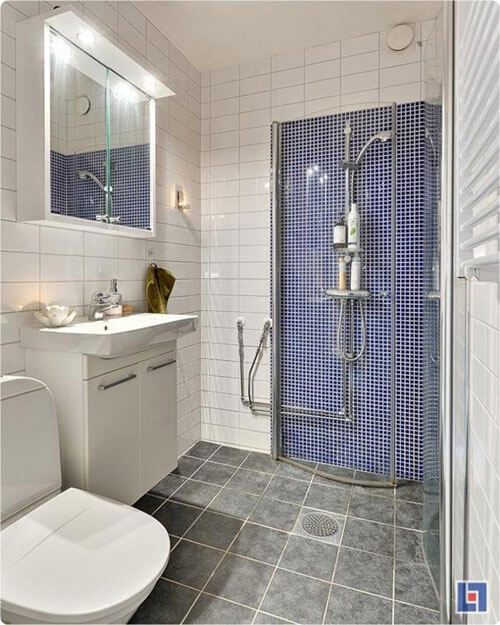 gạch ốp nhà vệ sinh nhỏ