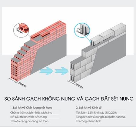 Gạch xây không nung 1