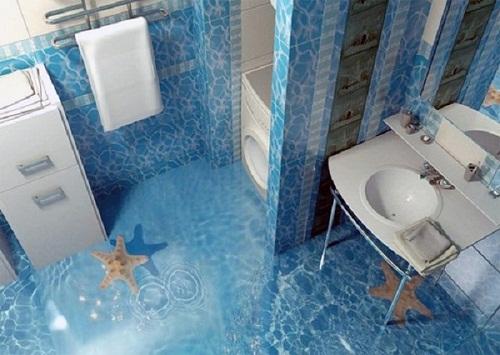 Mẫu phòng vệ sinh đẹp 2