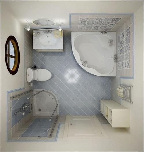 nhà vệ sinh nhỏ đẹp 1