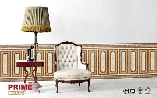 Gạch ốp chân tường giả gỗ – thiết kế đa dạng dành cho mọi công trình