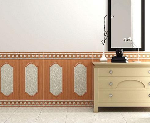 gạch ốp tường giả gỗ 40x90