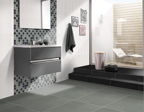 Mẫu gạch lát nền nhà vệ sinh Taicera Đẹp – Chống trơn tốt – Giá ưu đãi