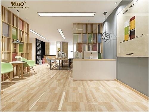 Các mẫu gạch Vitto 60x60 đem lại sự sang trọng cho công trình