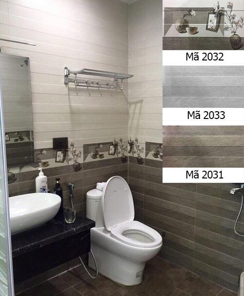 các mẫu gạch ốp nhà vệ sinh đẹp