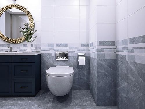 Gợi ý 2 loại kích thước gạch ốp nhà vệ sinh Hoàn Mỹ cho bạn