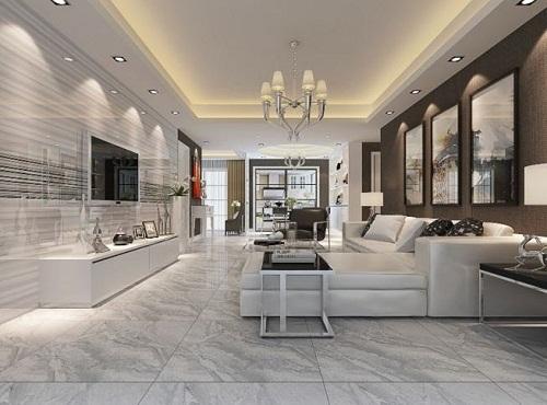 Có nên ốp gạch tường phòng khách? Đánh giá trên nhiều tiêu chí