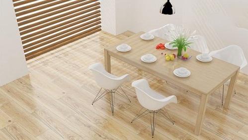 Nên lựa chọn gạch giả gỗ màu sáng cho những không gian nào?