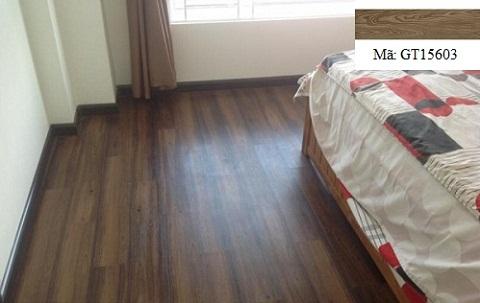 Mẫu gạch giả gỗ phòng ngủ Viglacera GT15603
