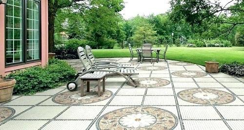 Bí quyết chọn gạch lát sân vườn biệt thự đẹp – sang nhất
