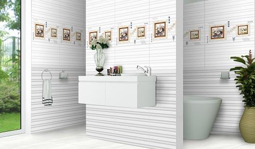 Cách chọn gạch ốp nhà tắm Ý Mỹ theo từng diện tích không gian