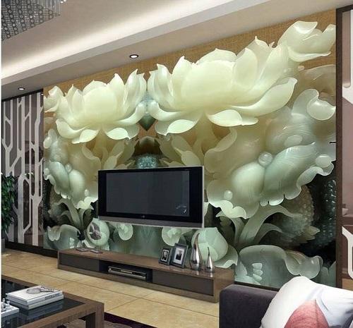 20+ Những mẫu gạch ốp tường 3D phòng khách HOT nhất hiện nay