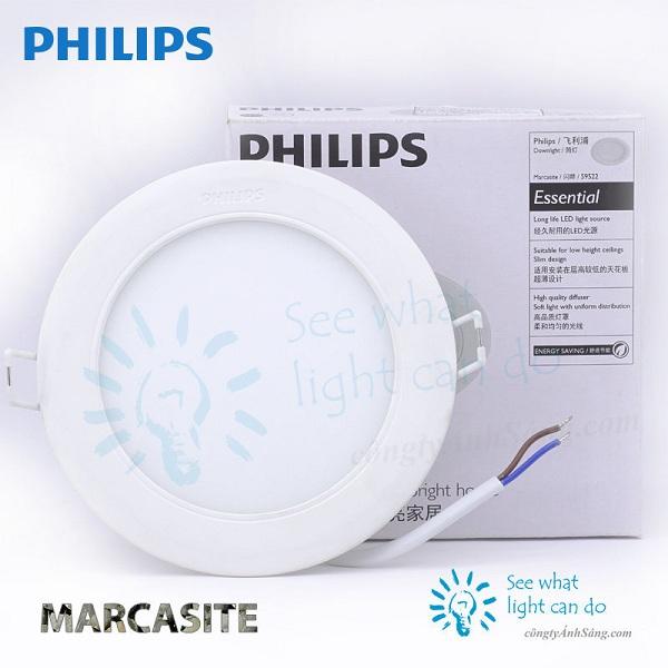Đèn LED âm trần 18w Marcasite